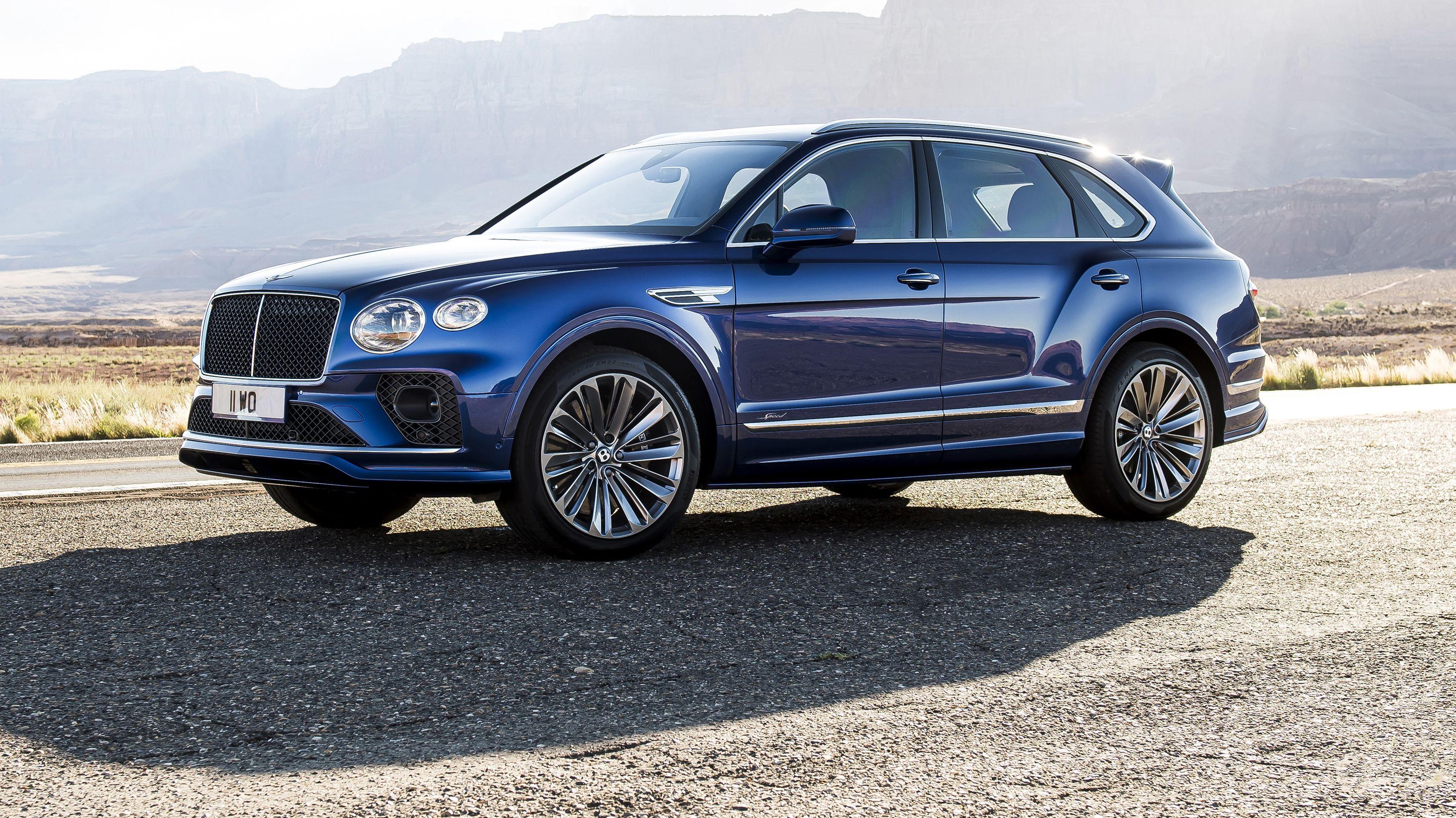 Bentley Bentayga Speed 2021 Igual De Veloz Pero Mas Atractivo