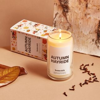 best fall scents autumn hayride candle