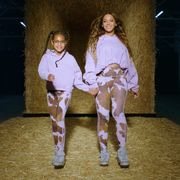 beyoncé with her kids in her ivy park rodeo campaign