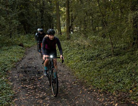 genieten, fietsen, herfst, bicycling