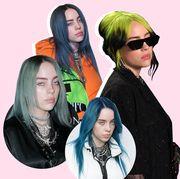billie eilish hairstyles