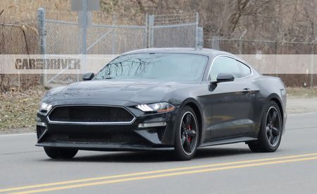 Black Art: Ford's New Bullitt Mustang Spotted in Shadow Black
