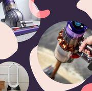 dyson vacuum, air purifier, hair dryer