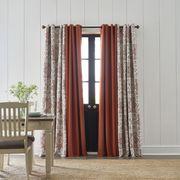 Curtain, Window treatment, Interior design, Textile, Room, Furniture, Window, Floor, Interior design, Door,