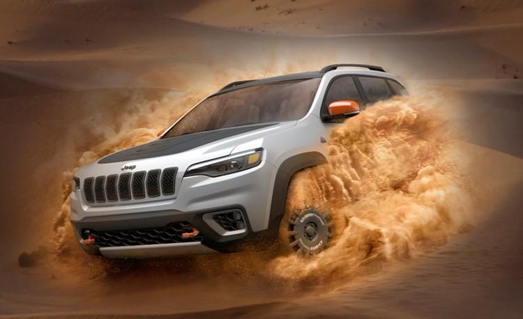 "Jeep Planning ""Sand Performance"" Deserthawk Models"