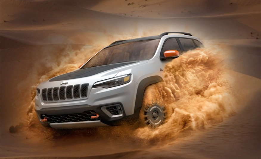 "Jeep Planning ""Sand Performance"" Deserthawk Models"