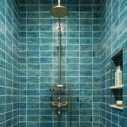best blue and green tiled bathrooms