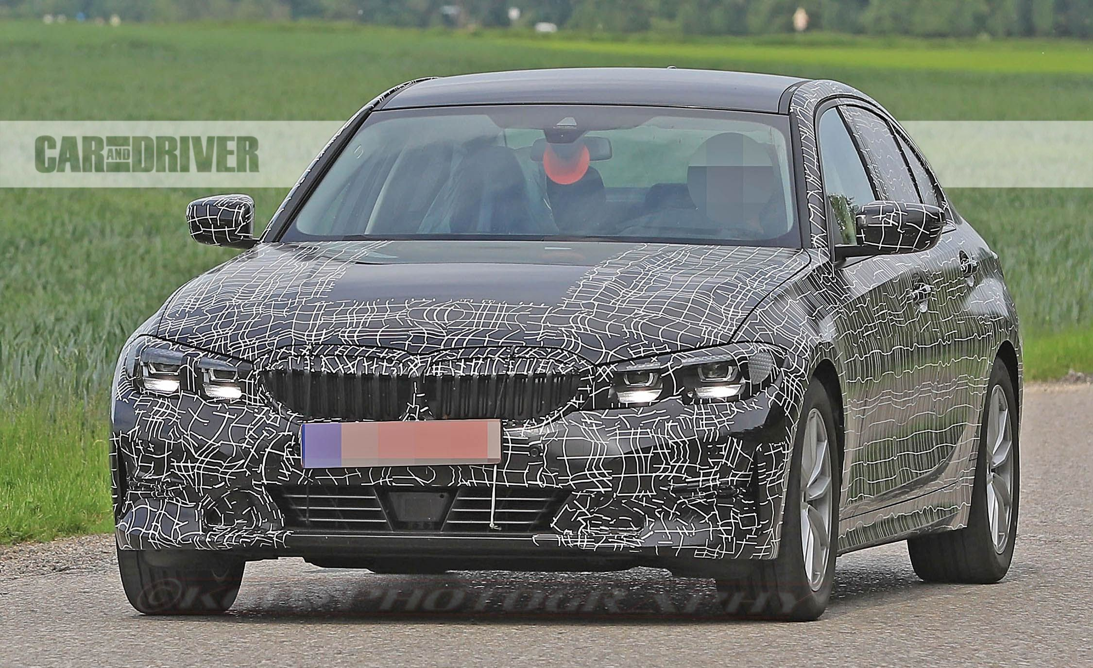 2019 BMW 3-series Comes into Focus