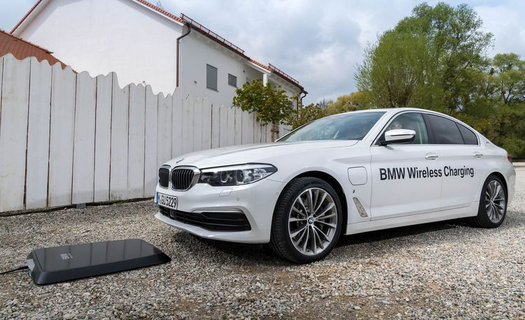 BMW to Debut Inductive Charging on the 530e