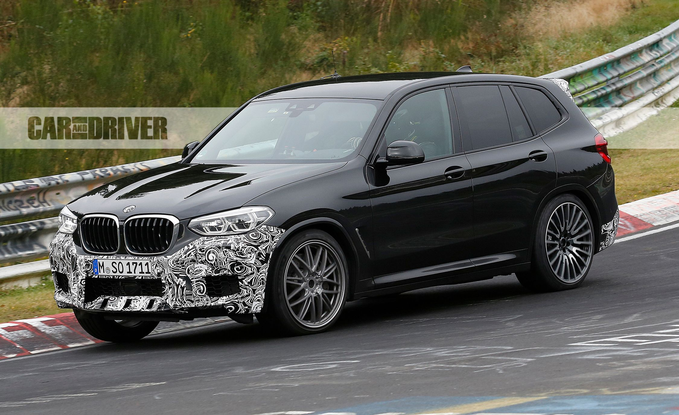 2020 BMW X3 M Spied! | News | Car and Driver