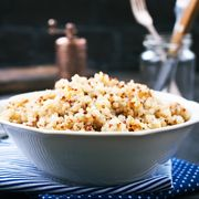 boiled quinoa