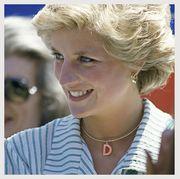 princess diana intial necklace