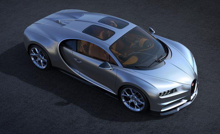 Bugatti Chiron Gets Pseudo T-Tops