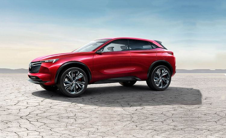 The Buick Enspire Is an All-Electric Concept SUV with 550 HP