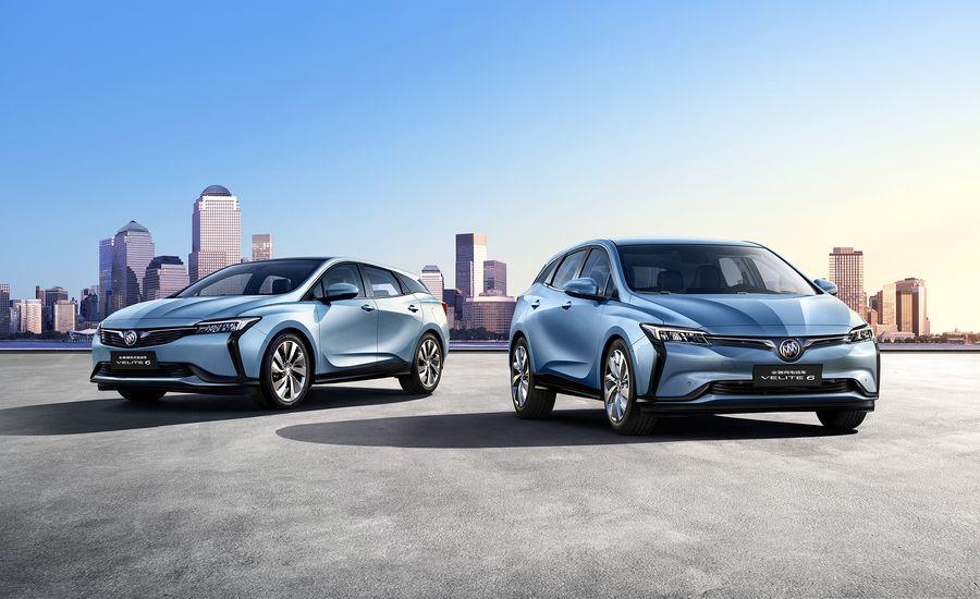 Velite-nik: Buick Unveils Velite 6 PHEV and EV in China