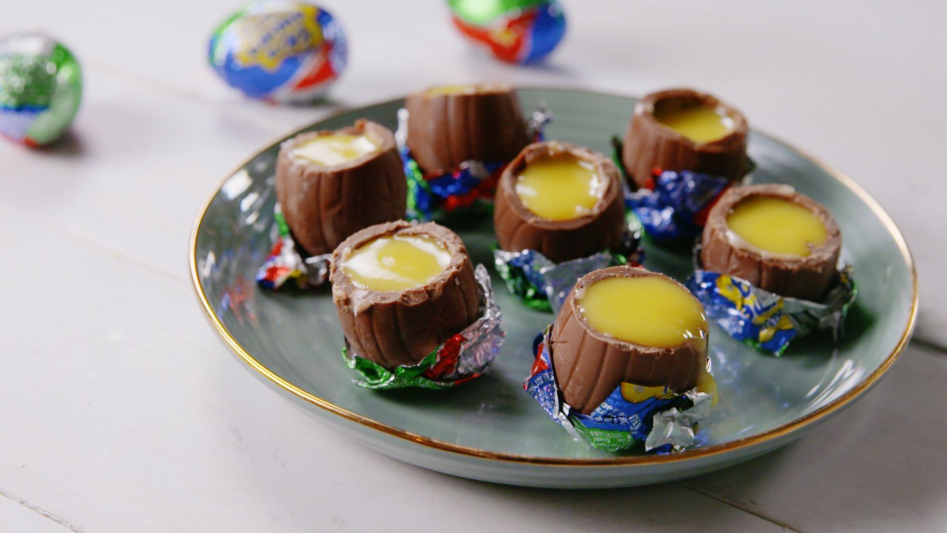 Important Life Skill: Turning Cadbury Creme Eggs Into Pudding Shots