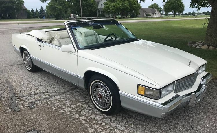 Roll Topless at the Woodward Dream Cruise in This Custom Cadillac De Ville Convertible