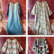 colorful caftans