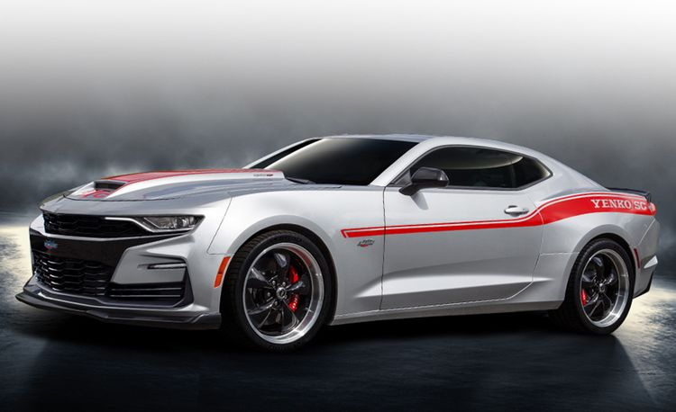 The Yenko Chevrolet Camaro Returns with up to 1000 Horsepower