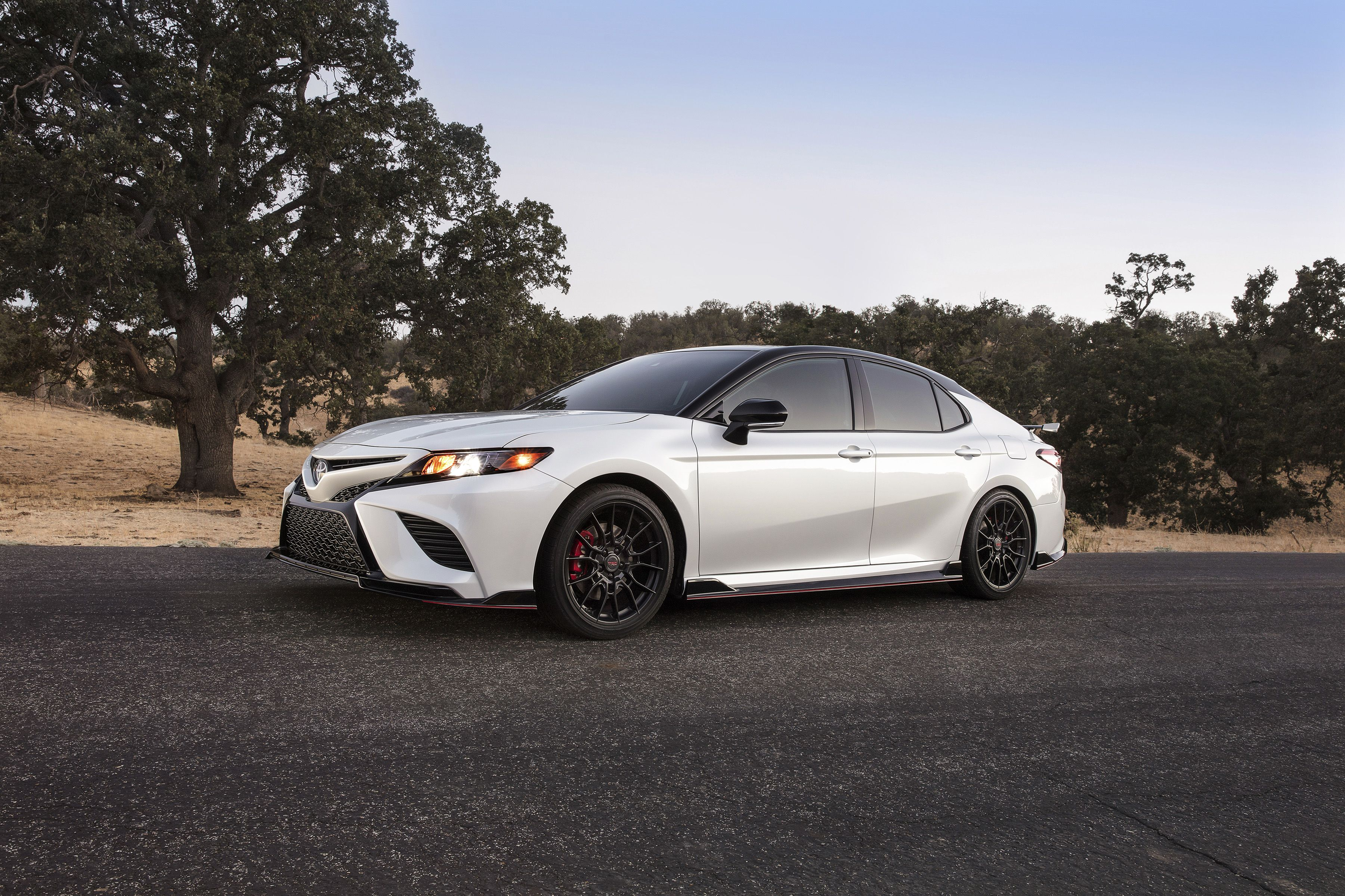 2020 toyota camry trd has red seatbelts and the chassis mods to back them up claims track ready vwvortex com 2020 toyota camry trd has red seatbelts
