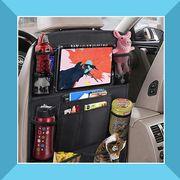 backseat car organizer and visor organizer