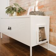 Furniture, Drawer, Room, Nightstand, Table, Material property, Floor, Tile, Sideboard, Chest of drawers,