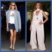 Clothing, Eyewear, Sleeve, Trousers, Hat, Shirt, Outerwear, Style, Dress, Coat,