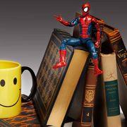 Cup, Spider-man, Mug, Drinkware, Coffee cup, Fictional character, Superhero, Hero, Serveware, Emoticon,