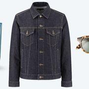 Denim, Clothing, Outerwear, Sleeve, Jeans, Jacket, Fashion, Textile, Pocket, Collar,