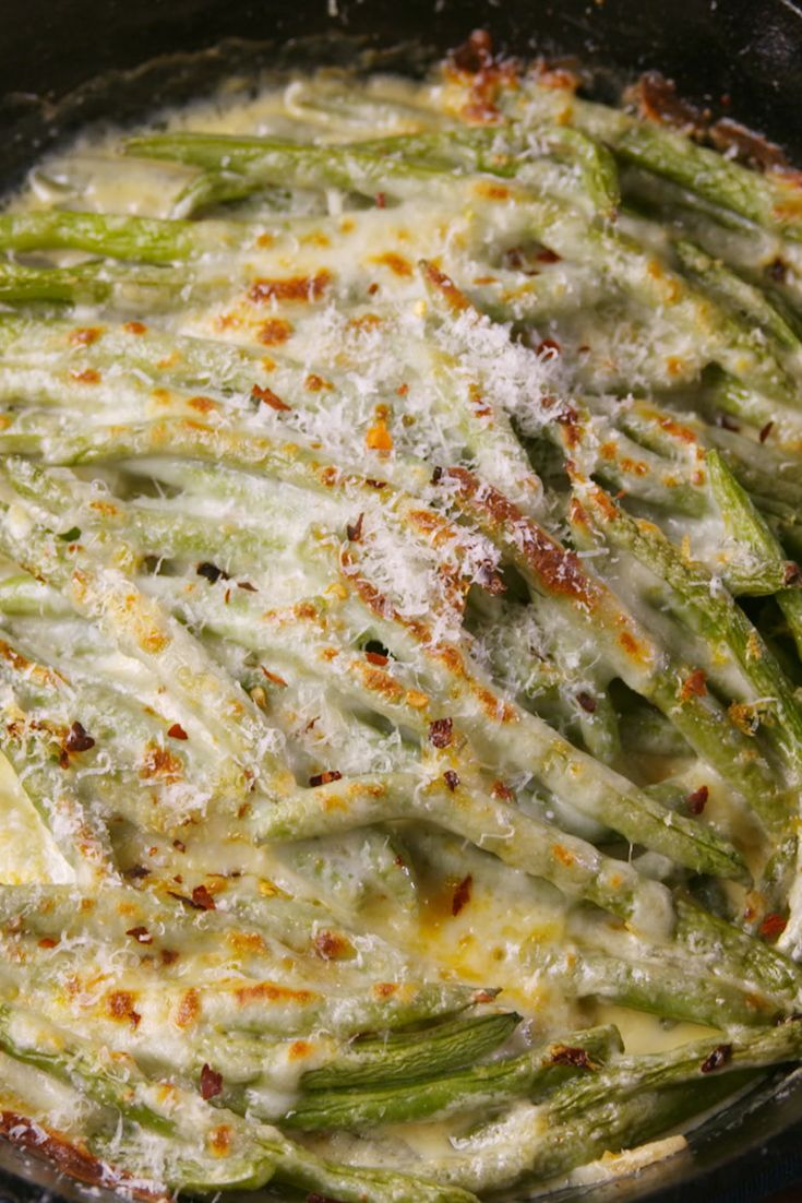 Best Cheesy Baked Green Bean Recipe How To Make Cheesy Baked Green Beans