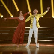 cheryl burke reacts to dancing with the stars eliminationscheryl burke, aj mclean
