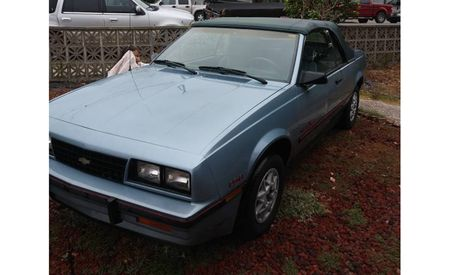 Stand Out at Monterey Car Week in This Classic Chevy Cavalier Convertible