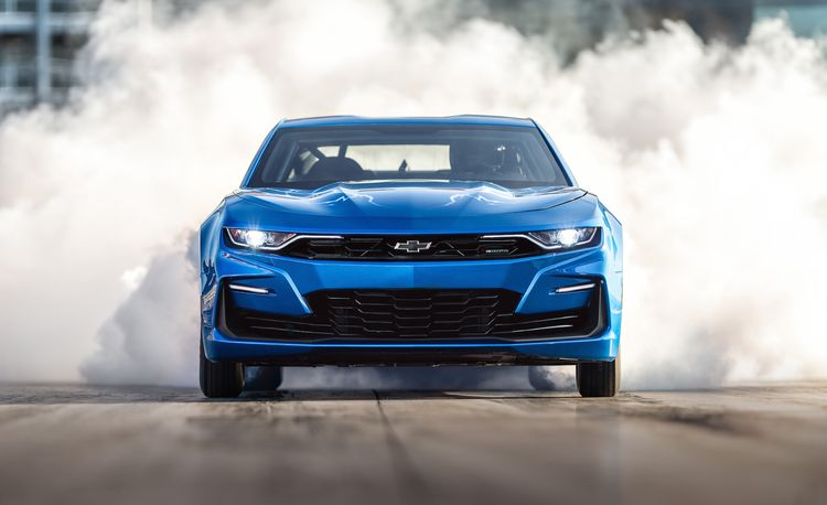 Chevrolet eCOPO Camaro Concept for SEMA Is a 700-HP Electric Drag Racer