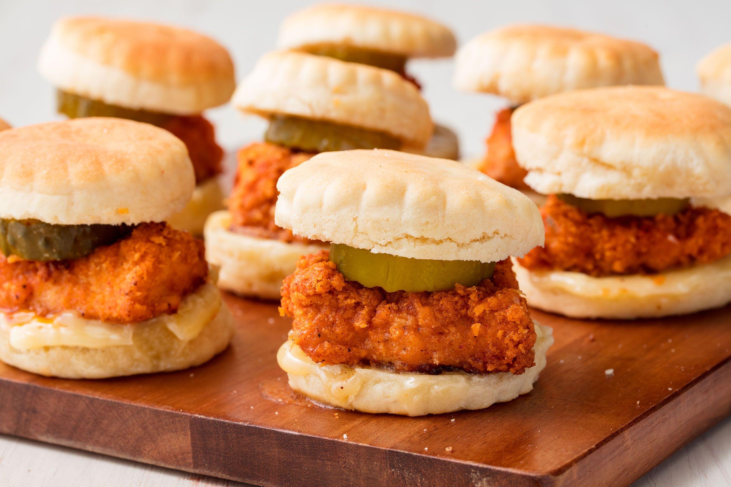 Chicken 'n Biscuit Sliders