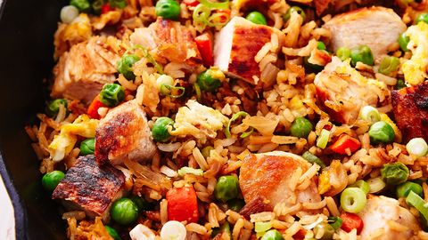 Best Chicken Fried Rice Recipe How To Make Chicken Fried Rice