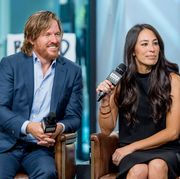 """build presents chip  joanna gaines discussing their book """"capital gaines smart things i learned doing stupid stuff"""""""
