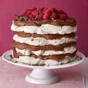 chocolate meringue layer cake recipe