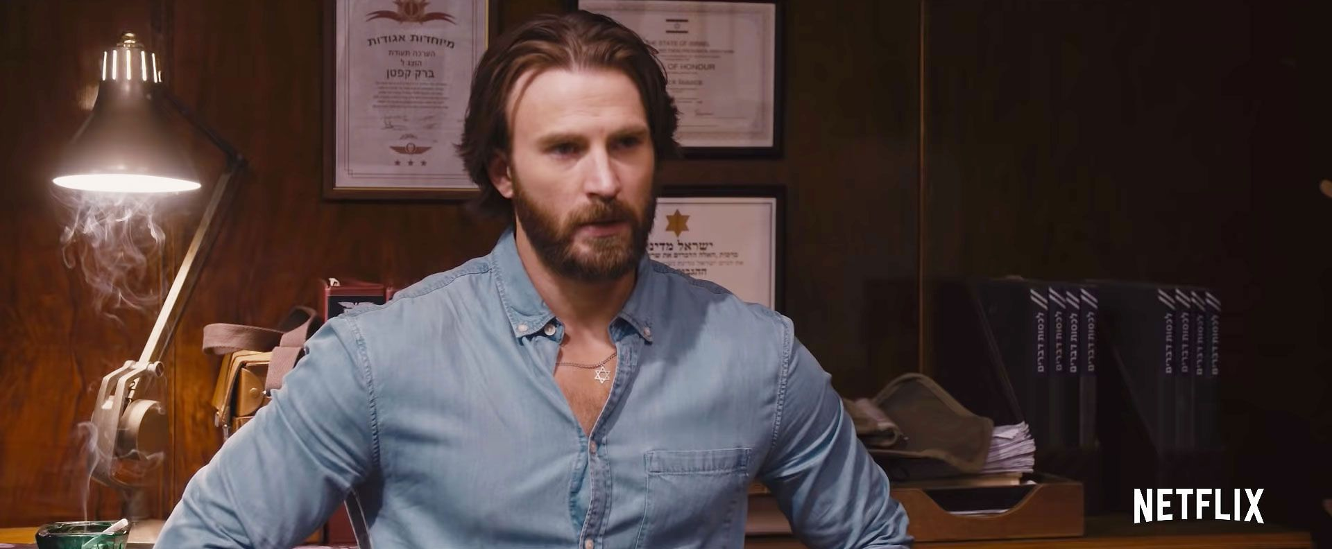 Avengers: Endgame star Chris Evans' beard is back in first trailer for Netflix's The Red Sea Diving Resort