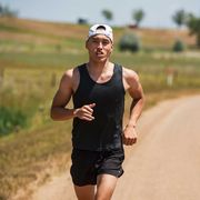 chris lee photographed in july 2020 in boulder, colorado where he likes to run