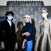 france fashion health virus dior