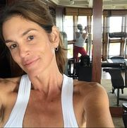 Cindy Crawford No Makeup Selfie Instagram