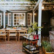 patio, home, backyard, property, building, house, roof, yard, pergola, furniture,