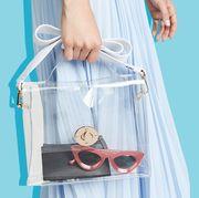 clear handbags