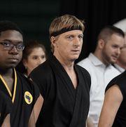 william zabka among other karate students in cobra kai