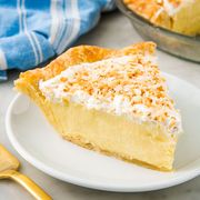 Dish, Food, Cuisine, Baked goods, Chess pie, Dessert, Ingredient, Custard pie, Produce, Pie,