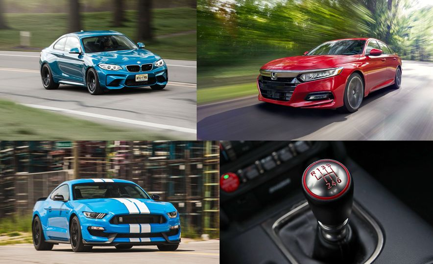Every New Car You Can Still Buy with a Manual Transmission in 2018 - Slide 1