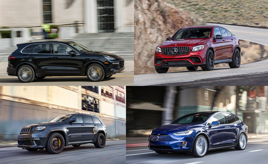 These Are the Quickest SUVs We've Ever Tested (So Far) - Slide 1