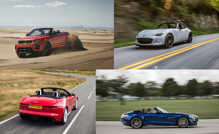 Droptop Roundup: Every Convertible Currently on Sale in the U.S. in 2018 - Slide 1