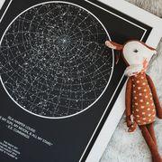 Illustration, Fawn, Giraffe, Ear, Blackboard,