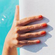 coral nail polish best 2019